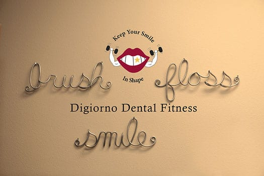 Digiorno Dental Fitness, Folsom, CA office signage