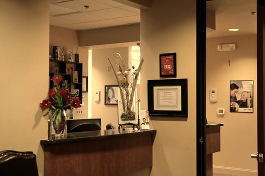 Digiorno Dental Fitness - Folsom Office lobby